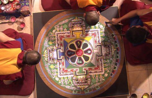 Sacred Balance Cover Monks