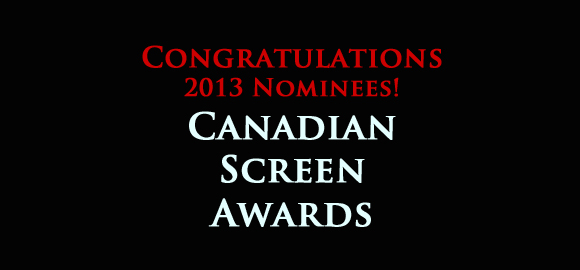 Canadian Screen Awards Nomination