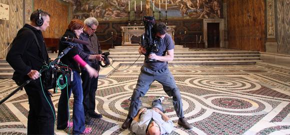 Vatican Filming