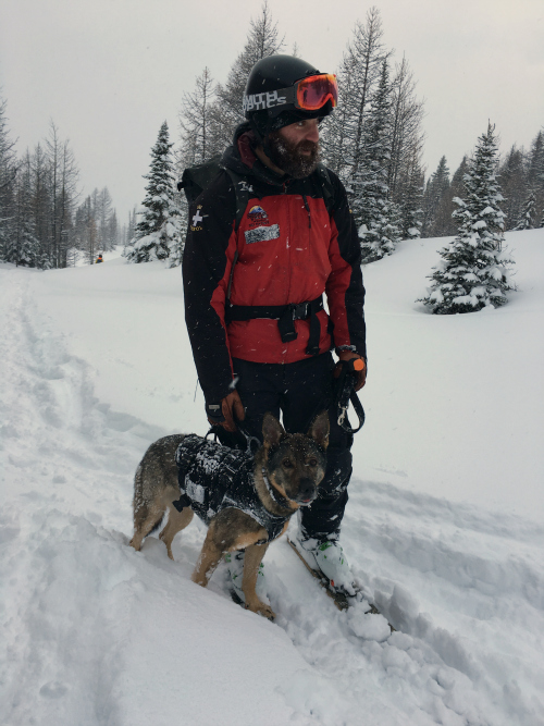 Risk Rescue man and dog500x677