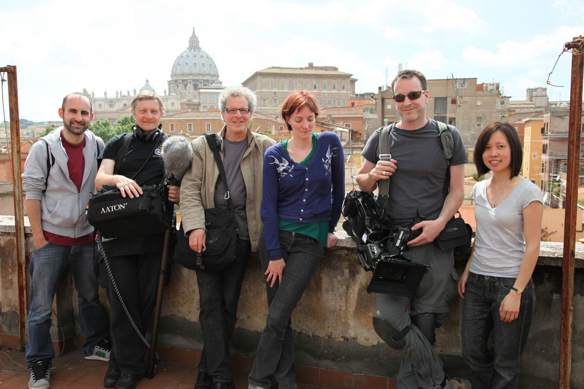 Museum Secrets Crew in Rome for Kensington Communications